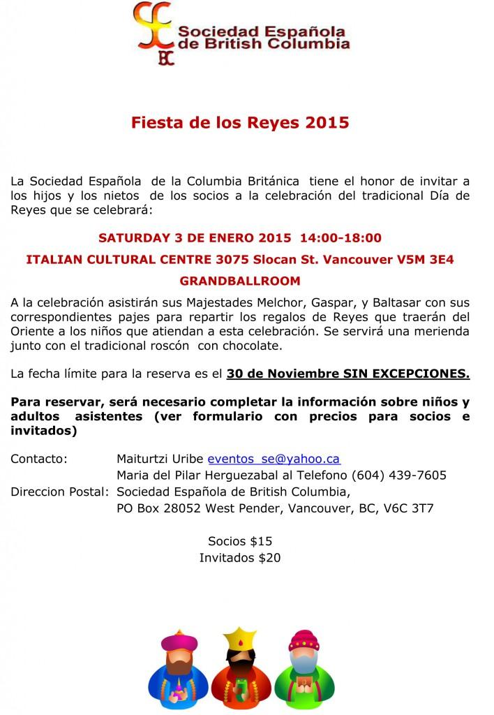 Reyes 2015 Invitacion